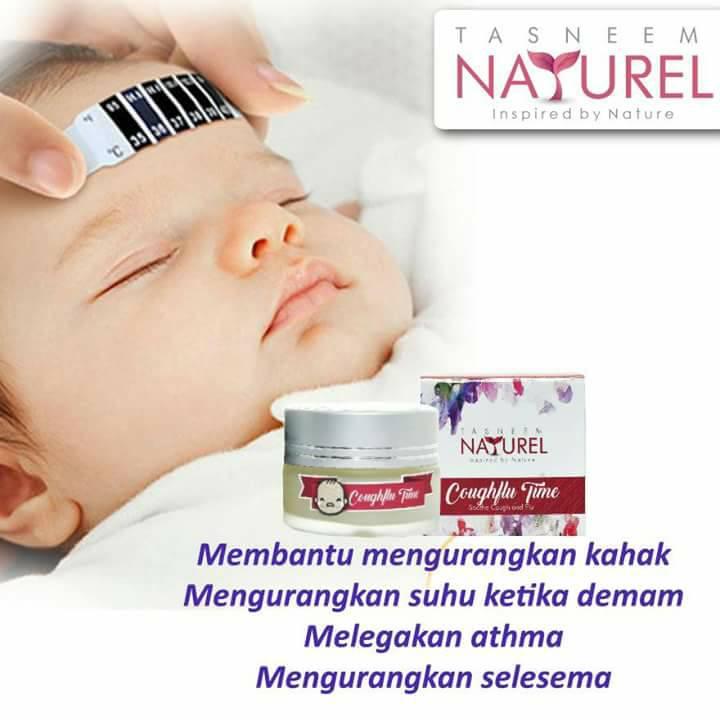 Hilangkan Batuk, Kahak Dan Selsema Bayi Dengan Balm Tasneem Naturel