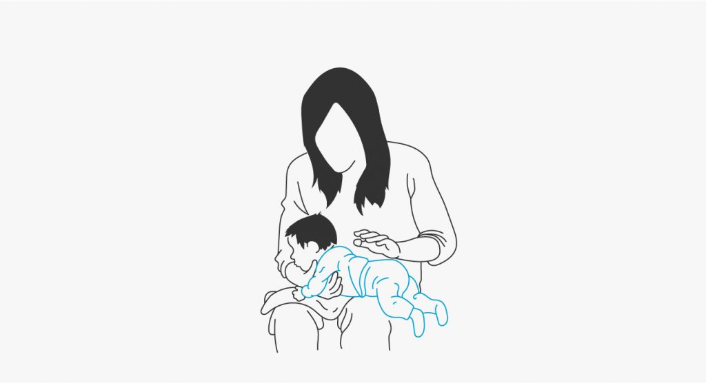 Cara Sendawakan Bayi Baru Lahir