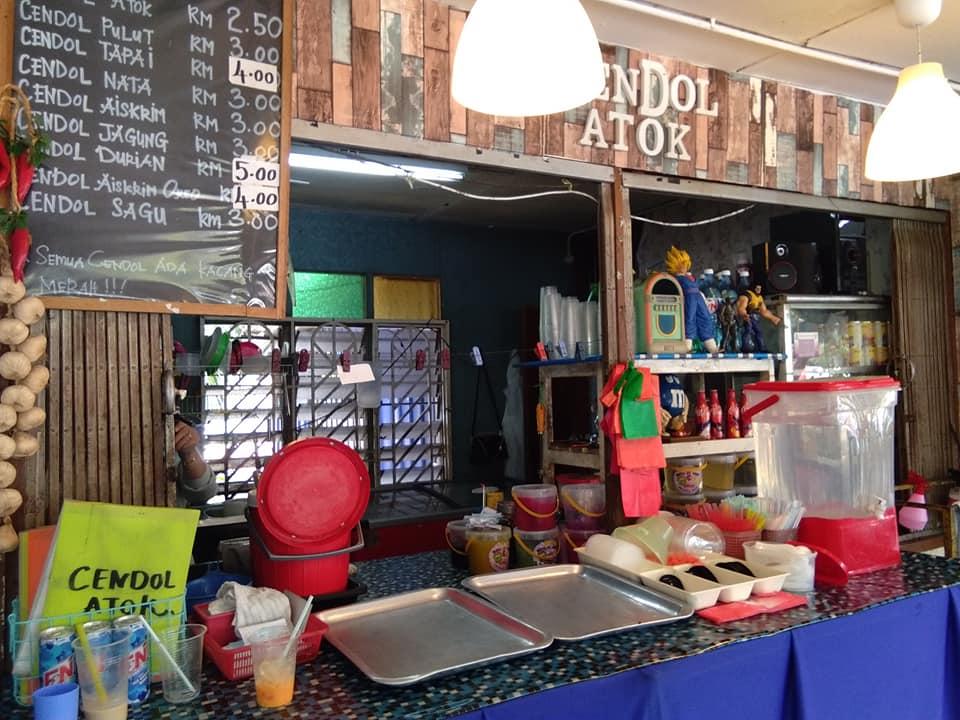Jalan-Jalan Cari Makan : Cendol Atok di Sungai Besar, Selangor